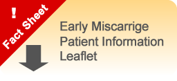 Intralipids Early Miscarrige Patient Information Leaflet